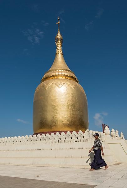 Bupaya Pagoda, Old Bagan, Burma - Myanmar