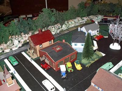 Hershey Christmas Train Display 2010