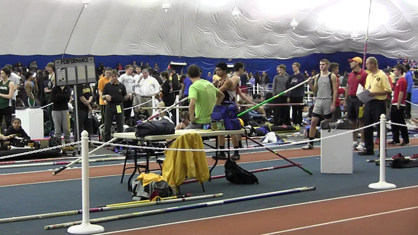 2012 Winter Track State Relays @ Bennett Indoor Track