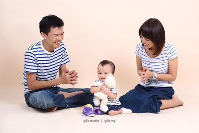 20150516 Chihiro Kengo Family Portrait