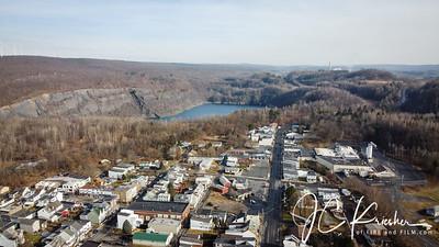 Shenandoah, Pa Drone Photos - 12/28/2019
