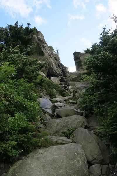 Grandfather Trail -- The Chute -- 5,720'