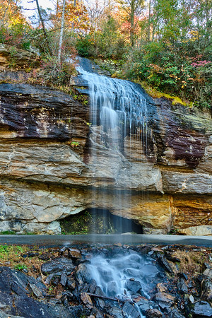Bridal Veil and Dry Falls
