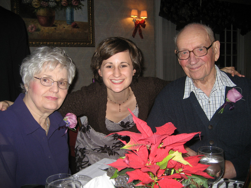 Gramma and Grampa and me
