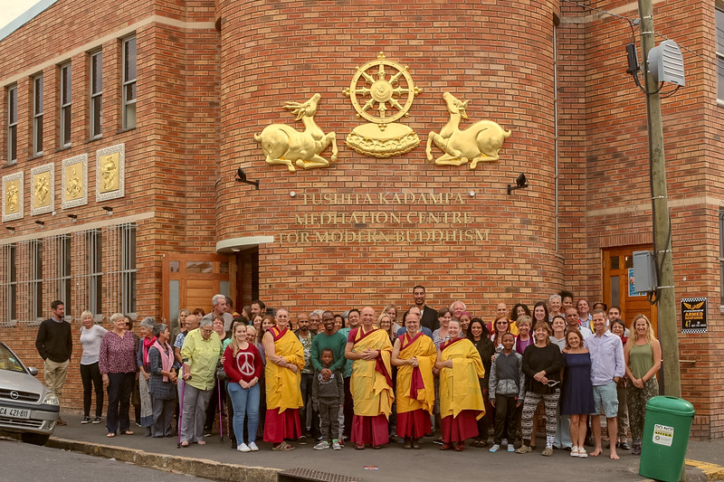 The first Kadampa temple in Africa