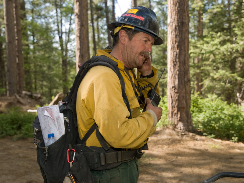 Gladiator Fire, Crown King, AZ, Prescott National Forest, May, 2012