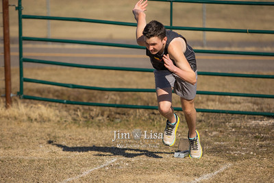 Track and Field Practice, March 3
