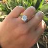 3.46ct Old European Cut Diamond GIA M, VS1 59