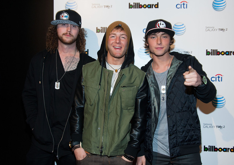 . Emblem 3 attends The Billboard GRAMMY After Party at The London Hotel on February 10, 2013 in West Hollywood, California. (Photo by Valerie Macon/Getty Images)
