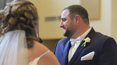 Katy + Jake at the White River County Park and Immanuel Lutheran Church in Lake Geneva