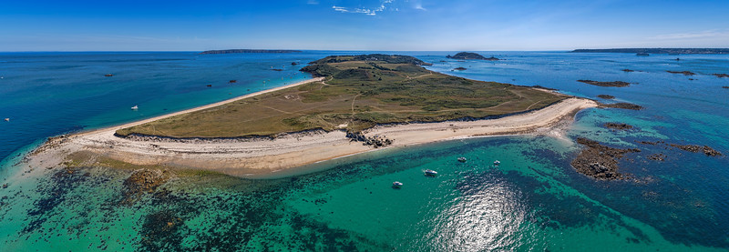Herm from above