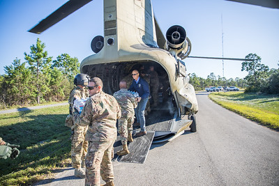 10-13-2018 Air Drop in Eastpoint with Florida National Guard