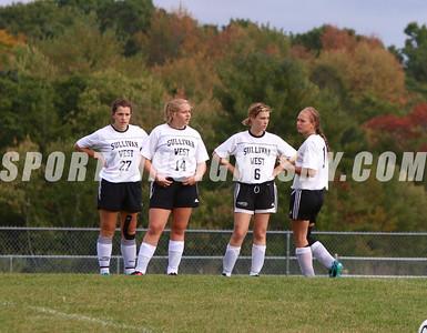 Sullivan West vs. Eldred Girls Soccer 10-4-16