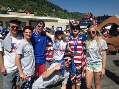 2014 USSA Float in the 4th of July Parade