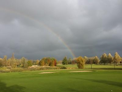 Goese Golf in najaarsoverleg, uiteindelijk lekker nat geregend!?