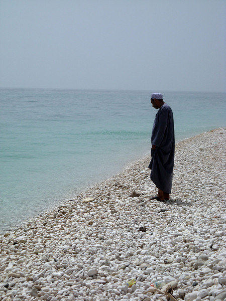 at White Beach, near Qurayat, on the Indian Ocean
