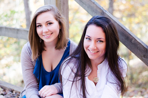 Kate and Corie Senior Pics