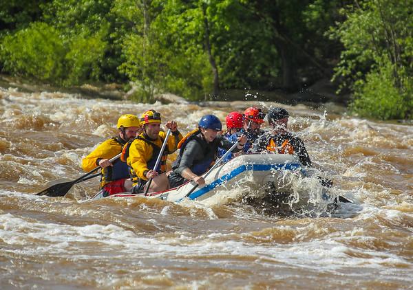 RVA Paddlesports 5-7-16 Afternoon Trip