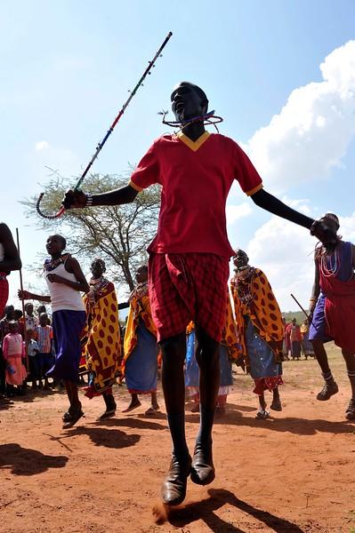 MAASAI TRIBE IN NAMANGA KENYA DAILY LIFE