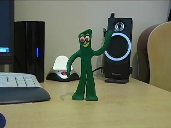 2010 Christmas Greetings- Gumby