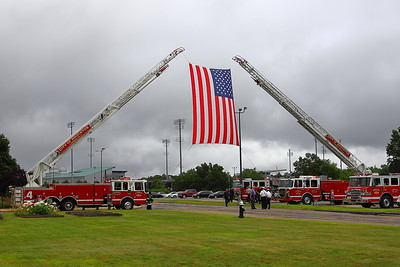 Brockton, MA Mayor Carpenter's Funeral Procession