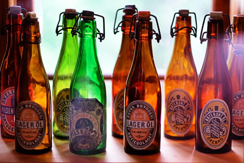 Vintage Beer Bottles F1474.jpg