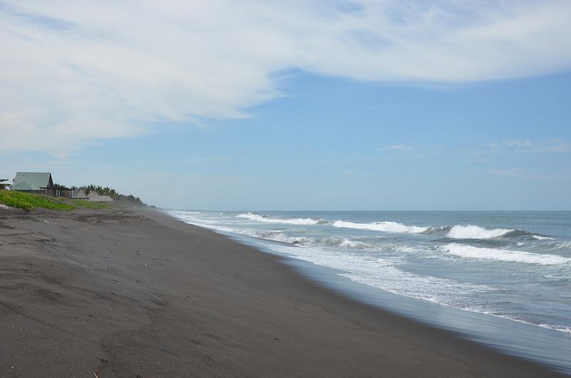 Black beaches in Monteroso