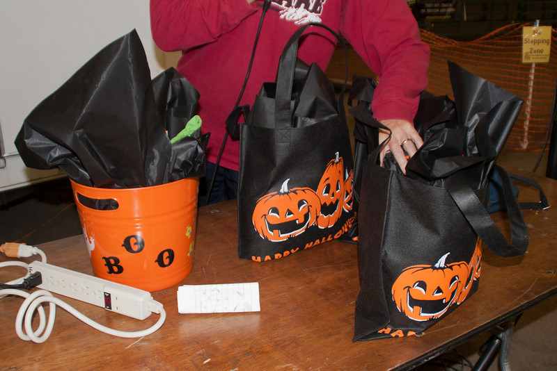 Prize bags.