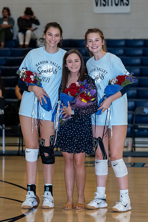 9-3-2020 HVA Senior Night Recognition