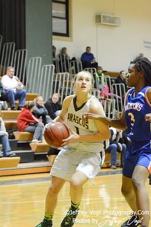 12-18-2013 Damascus HS vs Watkins MIll HS Girls Varsity Basketball, Photos by Jeffrey Vogt Photography