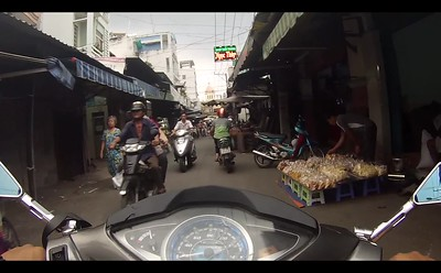 Saigon by motorbike