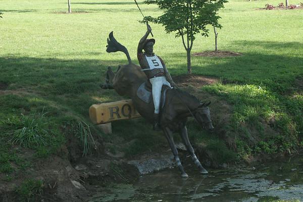 Wednesday 5/9/07, touring Horse Farms in Lexington