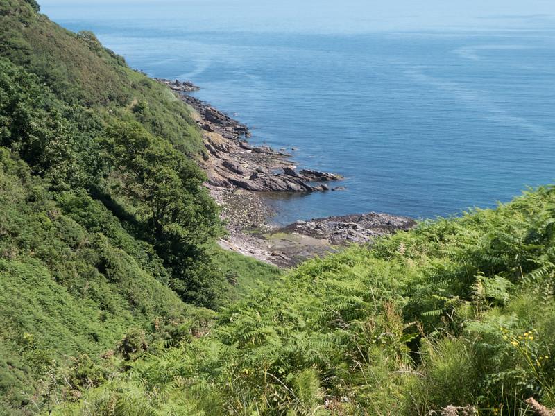 Ireland coast near Cushendall