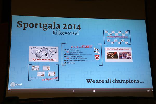 Sportlaureaten 2014 (27/02/15)