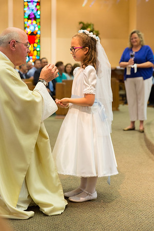 Adelaide's First Communion