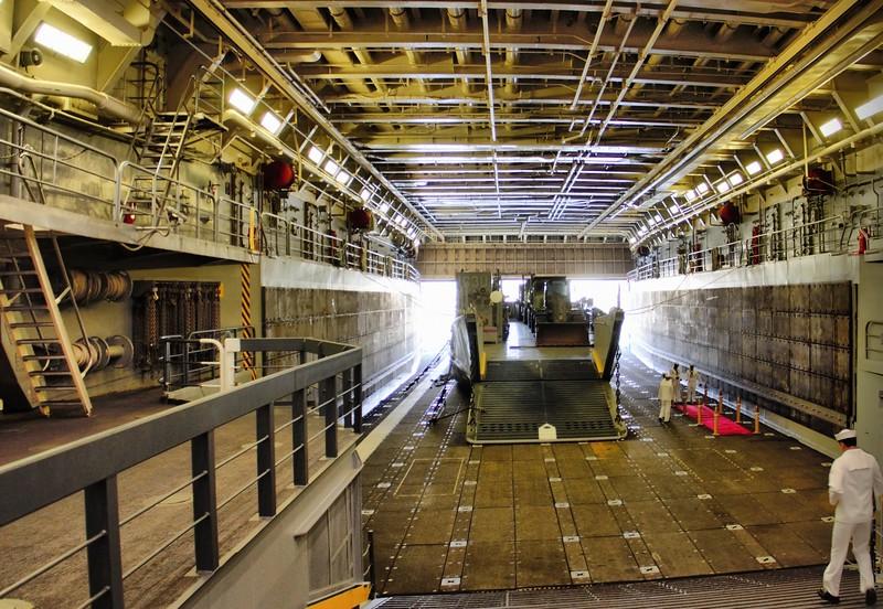 USS Anchorage Wet Deck August 2017