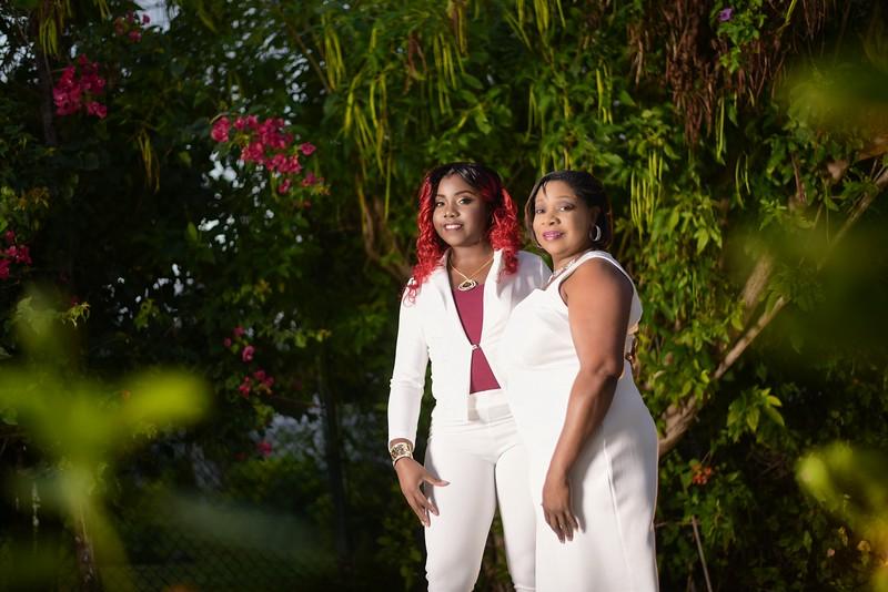 Carima Neiley & mother photoshoot