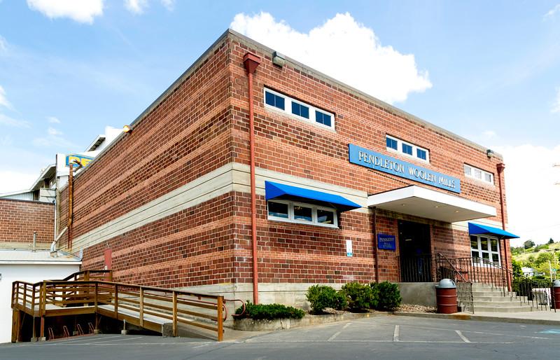 Next stop: The legendary Pendleton Woolen Mills