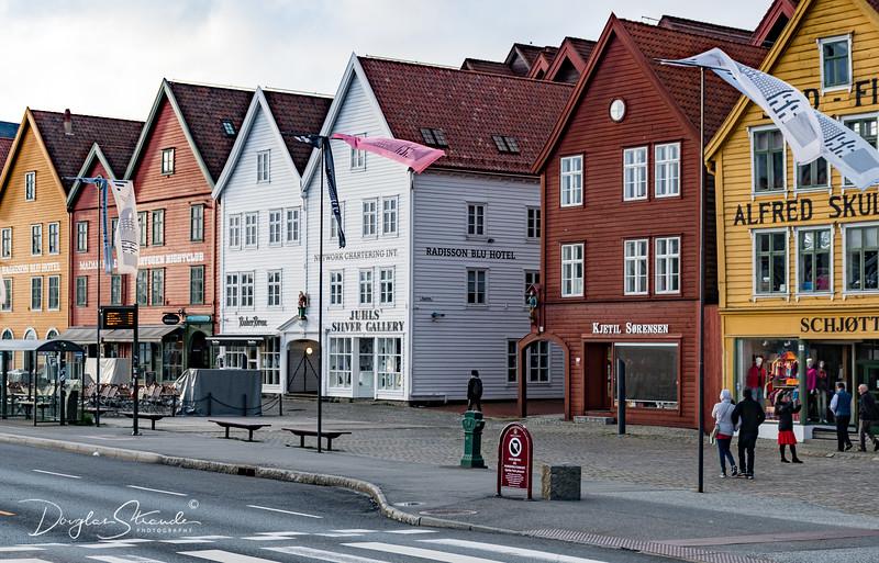Bryggen district (waterfront)