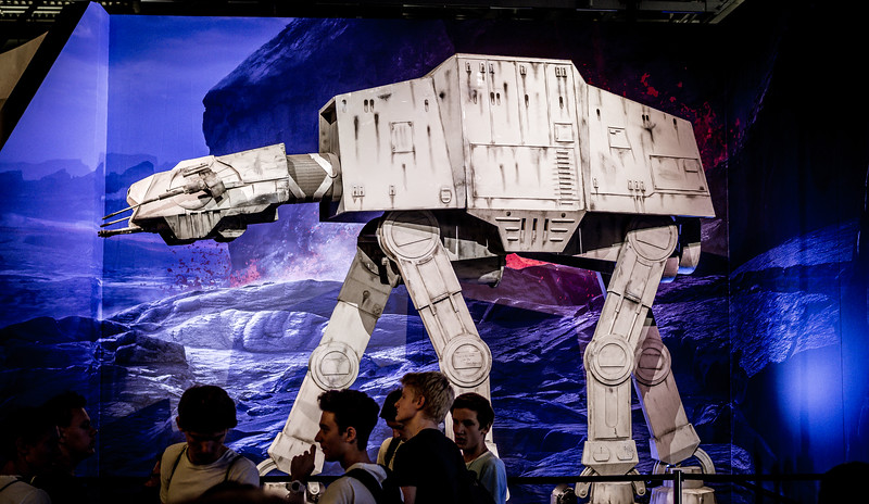 AT-AT at Gamescom 2015
