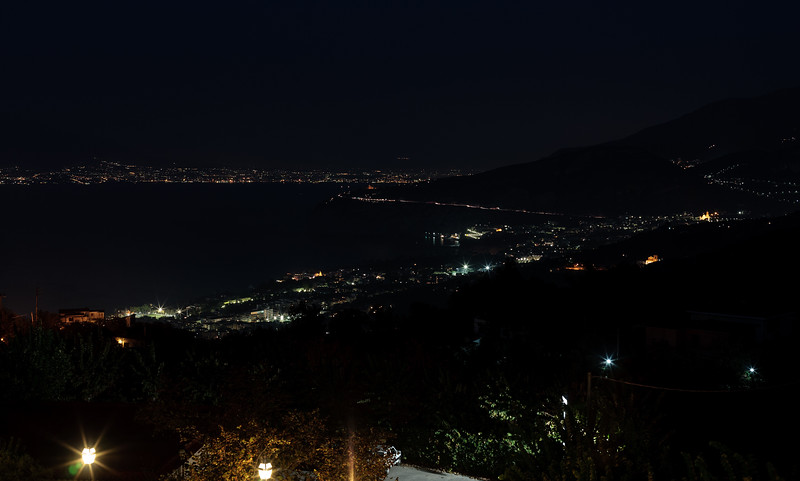 Sorrento at Night, Italy
