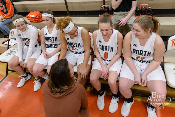 NDHS Lady Black Knights Basketball vs Ledford
