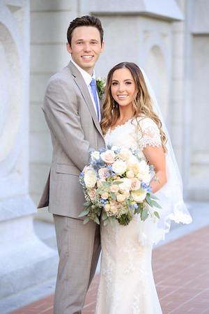 Morgan and Justin Wedding Day