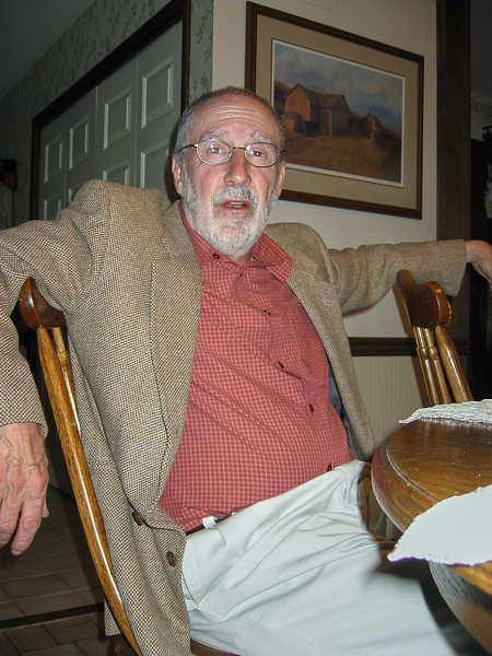 Larry Lebin visiting us in Dillsburg PA, May 18 2002.