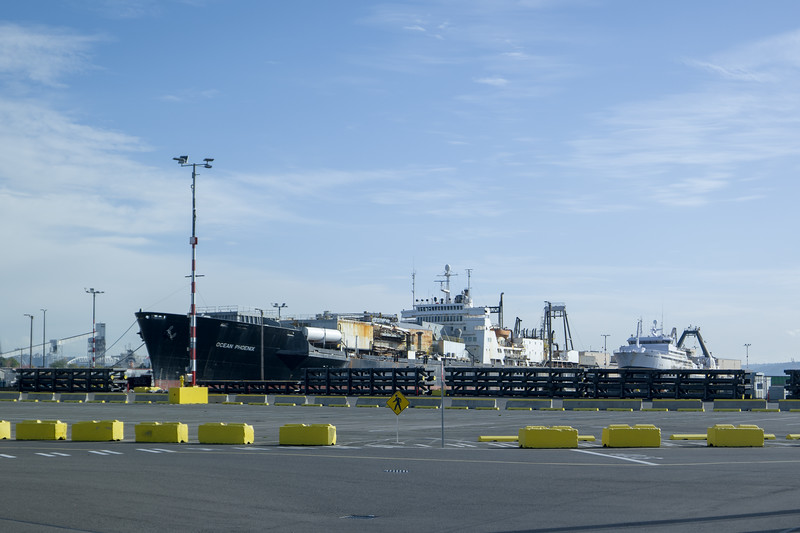 Seattle Ship In Port