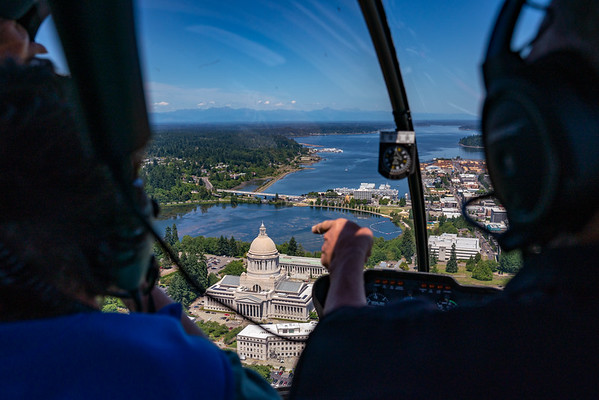 Olympia Helicopter Tour