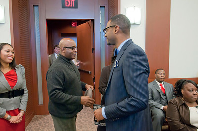 District Court Judge Donald Cureton, Jr Swearing-In Ceremony 26th Judicial District Court 1-14-11 by Jon Strayhorn