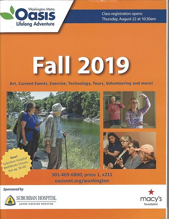 OASIS Fall Brochure