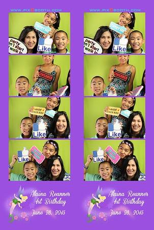6-28-2015 Alaina Reanne's 1st BIrthday