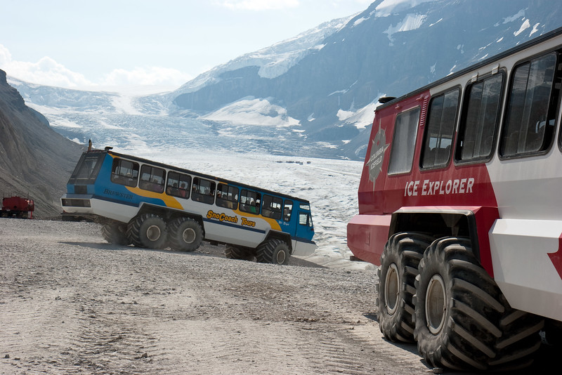 Another Coach Heads for the Glacier